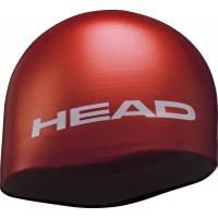 Шапочка для бассейна стартовая HEAD SILICONE MOULDED, для соревнований