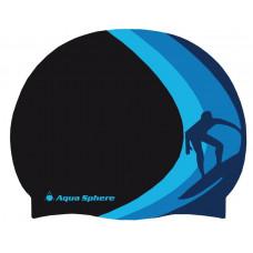 Шапочка для бассейна силиконовая детская Aqua Sphere Clarkey