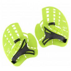 Лопатки для плавания Aqua Sphere Strength Paddle Neon