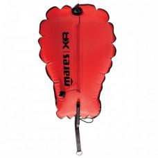 Буй - подъемный парашют, 30кг, оранжевый, с штуцером и клапаном Mares XR