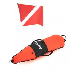 Буй Riffe Torpedo Divers с флагом