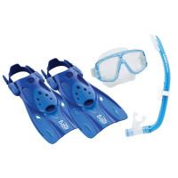 Набор маска с диоптриями, трубка и ласты TUSA UPR 0101