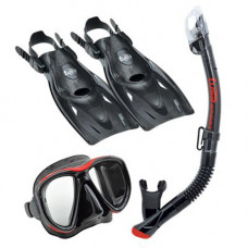 Набор TUSA UP 2521 для подводного плавания из маски, трубки, ласт