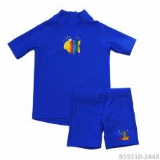 Комплект из лайкры детский шорты + футб. с коротким рук. IQ MiaCarlo
