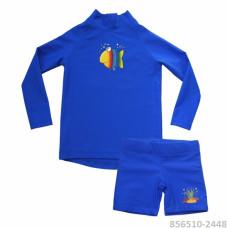 Комплект из лайкры детский шорты + футб. с длинным рук. IQ MiaCarlo